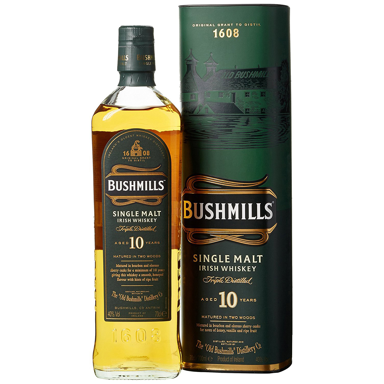 Whisky Review/Tasting: Bushmills 10 years - YouTube
